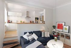 Two Room Apartment, Stockholm, Sweden.