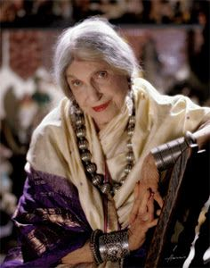 """I owe it all to chocolate and young men"" Beatrice Wood    When I am older, I will /certainly/ wear purple. Often."