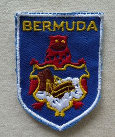 Bermuda Colorful Souvenir Travel Patch | eBay