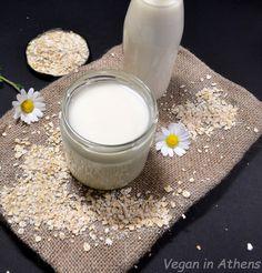 Homemade oat milk – vegan, fast, cheap and easy recipe Vegan Milk, Cheap Easy Meals, Plant Based Milk, Milk Recipes, Glass Of Milk, Homemade, Healthy, How To Make, Food