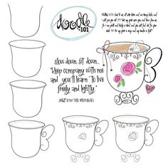 How To Draw Doodle – - Bullet Journal Companion / John / day 1 Doodle Sketch, Doodle Drawings, Easy Drawings, Doodle Art, Scripture Art, Bible Art, Bellet Journal, Bible Doodling, Illustration Mode