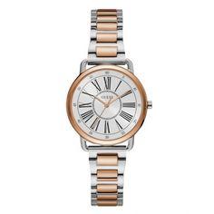 Γυναικείο ρολόι GUESS W1148L4 με λευκό καντράν 72cb40bf4c6
