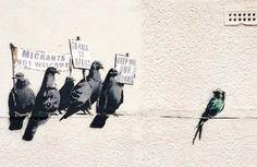 Banksy Canvas Wall Art - Street Art for Sale Banksy Graffiti, Arte Banksy, Banksy Work, Banksy Prints, Banksy Canvas, Street Art Banksy, Bansky, Banksy Paintings, Oil Paintings