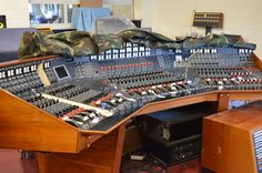 Abbey Road EMI console that mixed Raiders of the Lost Ark & Star Wars, to name a few.