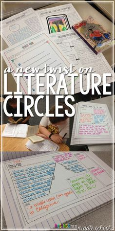 Looking to breathe some life into your lit circle routine? Check out th. 8th Grade Ela, 6th Grade Reading, Middle School Reading, Middle School English, Fourth Grade, Third Grade, Sixth Grade, 6th Grade English, Ap English