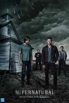 HOW COME YOU NOT LOVE THEM.SUPERNATURAL SEASON 9 PROMO POSTER
