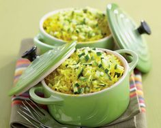 Spicy Pilaf Rice with Courgettes