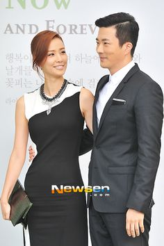 Kwon Sang Woo and Son Tae Young at Lee Byung Hun and Lee Min Jung wedding.