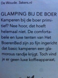 Www.Boeren-bed.nl/glamping