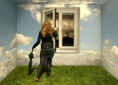 Image by Erik Johansson - Swedish photographer - brilliant Photoshop Magritte, Photomontage, Erik Johansson Photography, Statues, Surreal Photos, American Rappers, Never Too Late, Top Photo, Photo Manipulation
