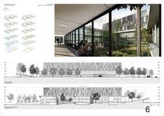 Fábrica de Paisaje, Primer Lugar en concurso sanatorio y centro nacional de rehabilitación / Montevideo,Lámina #06. Image Cortesia de Fábrica de Paisaje