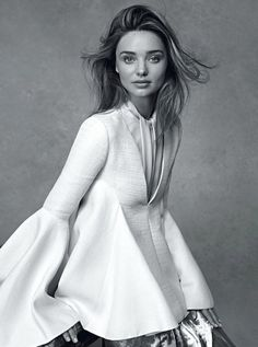 Miranda Kerr Vogue Australia July 2014 Photographer Benny Horne Stylist Christine Centenera