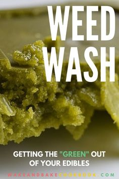 Making weed butter or cannabis oil with water in it is so ten years ago. But rinsing your cannabis coconut oil after the fact has pretty amazing results. Weed Recipes, Marijuana Recipes, Cooking Recipes, Weed Butter, Marijuana Butter, Cannabis Edibles, Kitchens, Hemp