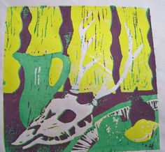Artistic Journeys: Reduction Lino Print