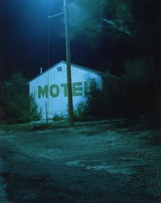 just keep driving...we're not that tired... (todd hido)