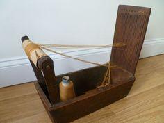 RARE Antique Tape Box Loom Pennsylvania Origin Functional Amazing | eBay