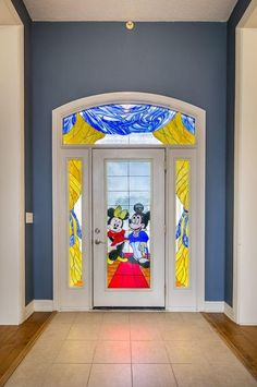 Incredible Disney-inspired Florida mansion features a Mickey Mouse swimming pool and cartoon stained glass windows Decor, Disney Room Designs, Room Design, Florida Home, Disney Bathroom, Disney Themed Rooms, Disney Furniture, Disney House Ideas