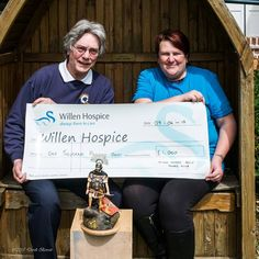 Big thank you goes out to Milton Keynes Scale Model Club who raise a whopping £1,000 to support our care with their ModelKraft 2017 event!