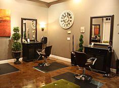 L Paradis Salon Styling Stations