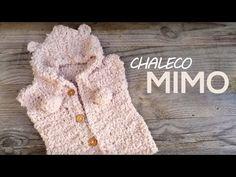 Chaleco Mimo a crochet (Actualizado) - YouTube