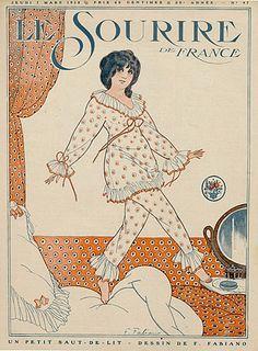Le Sourire Fabien Fabiano 1918  | Hprints.com