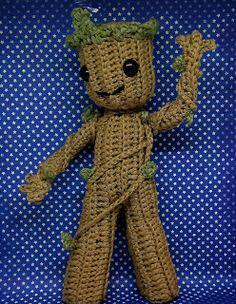 Little Groot crochet pattern Guardians of the Galaxy 2