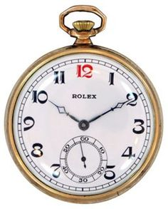 One Kings Lane - Fine Time - Rolex Pocket Watch, 1958 Old Pocket Watches, Old Watches, Vintage Watches, Watches For Men, Jewelry Watches, Men's Jewelry, Jewellery, Luxury Watches, Fashion Watches