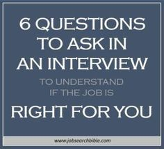 Job interviews can feel like a one-way grilling. Here we share 6 questions to ask in an interview to understand if the job is right you. Questions To Ask Employer, Interview Questions To Ask, Fun Questions To Ask, Job Interview Tips, Job Interviews, This Or That Questions, Interview Preparation, Interview Techniques, Preparing For An Interview