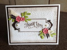 Wedding Thank You card for parents