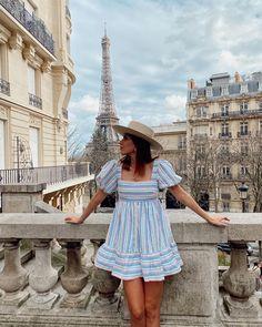 Paris Outfits, Paris Dresses, Summer Outfits, Night Outfits, Paris Summer, Paris Chic, Dress Link, Europe Fashion, Parisian Style