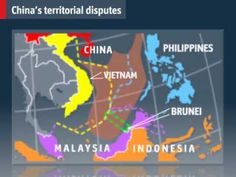 Videographic: China's territorial claims - The Economist - YouTube.