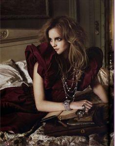 mark seliger italian vogue photography  #emma watson #fashion #vogue