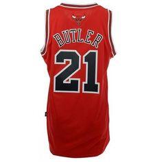 1ebf6050b84 adidas Men s Jimmy Butler Chicago Bulls Swingman Jersey-Red