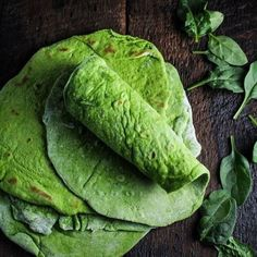 Homemade Spinach Wraps {Katie at the Kitchen Door}. Vegan option: use unsweetened non dairy milk. :: Makes wraps. milk, warmed in the microwave or on the stovetop :: Vegan Vegetarian, Vegetarian Recipes, Cooking Recipes, Healthy Recipes, Spinach Recipes, Vegan Milk, Soy Milk, Healthy Snacks, Vegetarian Food