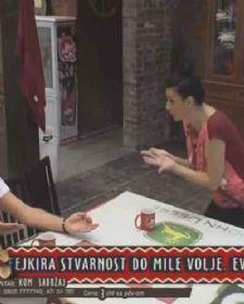 U rijalitiju Farma 7 nijedan dan ne može da prođe bez većih ili manjih svađa i rasprava među učesnicima, pa je tako bilo i danas, a glavni akteri su Saška Karan i Miki Mećava.