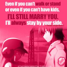 Day 28: favorite quote Hands down... Love this scene, quote, characters, song, animation, anime, ALL OF IT...