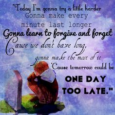 Song-One Day Too Late Artist-Skillet