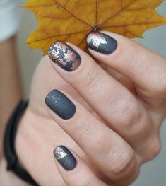 @DarkParadise Fall Nail Designs, Manicure And Pedicure, Colorful Makeup, Gel Nail Art, Nails 2018, Beauty Tips For Skin, Nail Colors, Toe Nails, Nail Inspo