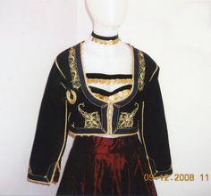 Traditional Cretan costume for women (Greece) Costumes For Women, Greek Costumes, Greek Traditional Dress, Empire Ottoman, Greek History, Folk Costume, Historical Costume, Crete, Albania