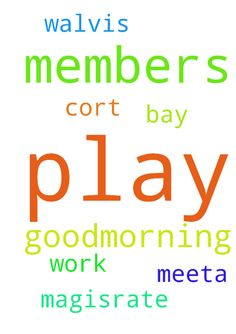 goodmorning members please play for me i m having - goodmorning members please play for me i m having are cort on 31032017 on the meeta of my work please play for me on the magisrate of walvis bay play on this in jesus name amen Posted at: https://prayerrequest.com/t/z51 #pray #prayer #request #prayerrequest