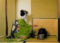 La cérémonie du thé (Chanoyu)