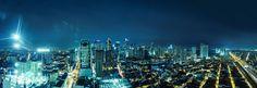 Photograph Metro Manila Night life by Lê Hoàng on Manila Philippines, City Life, Night Life, New York Skyline, Places To Visit, Explore, Photograph, Travel, Image