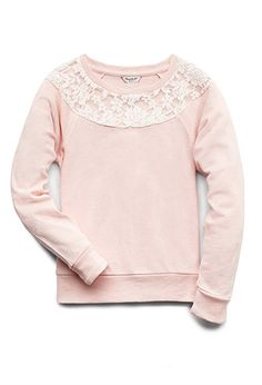 Lovely Lace Sweatshirt (Kids) | FOREVER21 girls - 2075044859