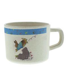 Intelligent Official Licensed Beatrix Potter Organic Blue Bowl Nursery Childrens Kids Pottery, Porcelain & Glass Beatrix Potter