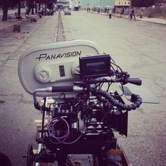 Here's a photo of Paul Thomas Anderson's insanely long dolly track for Inherent Vice