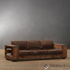 Диван д 05 в стиле loft & industrial ручной работы Loft Furniture, Real Wood Furniture, Custom Furniture, Lounge Sofa, Sofa Set, Industrial Sofas, Industrial Style, Twin Bed Couch, Steampunk Furniture