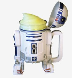 Frozen Lemonade in an R2-D2 Stein, Available During Star Wars Weekends Disney's Hollywood Studios