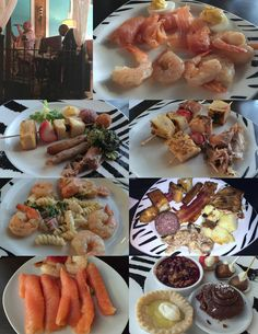 Mother's Day brunch buffet @ de-NOVO. Highlights: Braised rabbit and French toast kabob!
