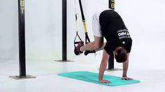 Príťahy kolien k hrudi s dvíhaním panvy s nohami na TRX Trx, Treadmill, Gym Equipment, Sports, Hs Sports, Treadmills, Workout Equipment, Sport
