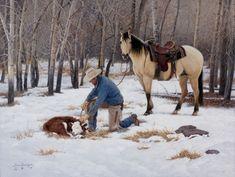 .. West Art Exhibition - Steve Devenyns - Western Art - Western Paintings